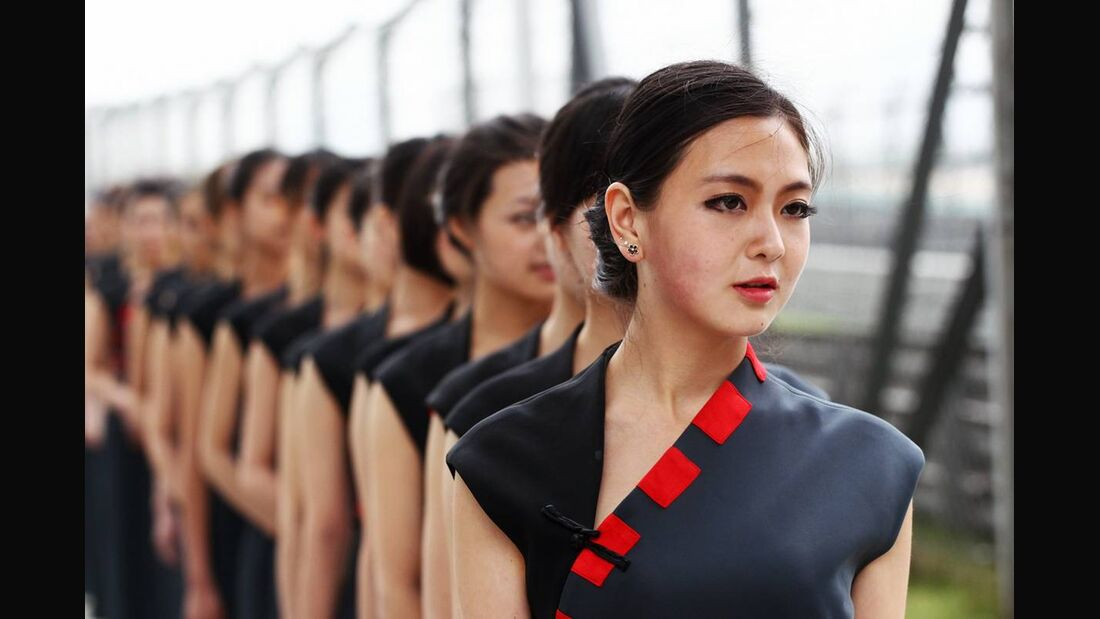 Girls - Formel 1 - GP China - 14. April 2012