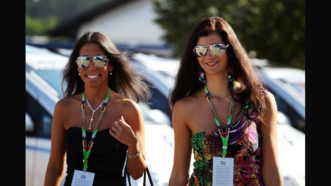 Girls - Formel 1 - GP Deutschland - 22. Juli 2012