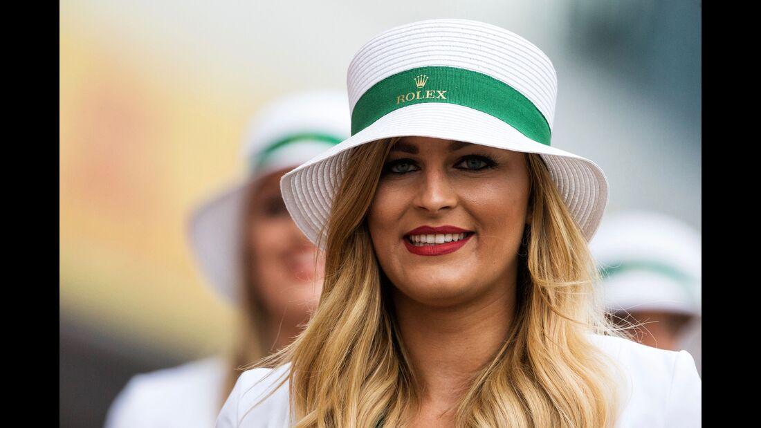 Girls - Formel 1 - GP England - 15. Juli 2017