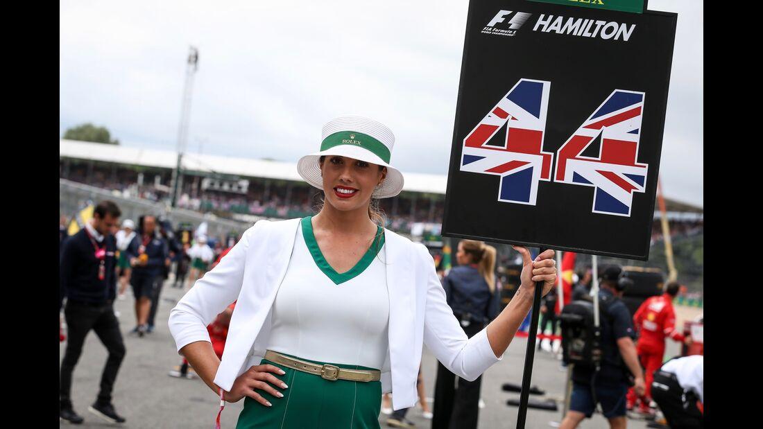 Girls - Formel 1 - GP England - 16. Juli 2017