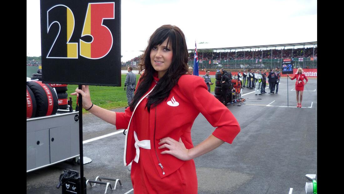 Girls Formel 1 GP England 2011