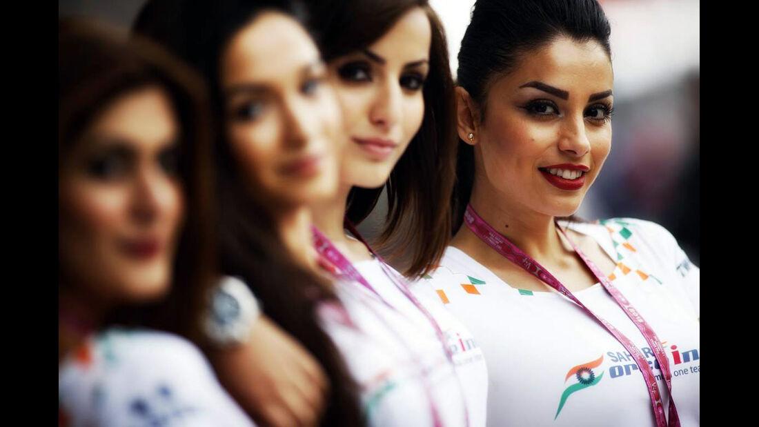Girls - Formel 1 - GP England - 28. Juni 2013