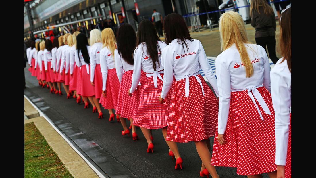 Girls - Formel 1 - GP England - Silverstone - 5. Juli 2014