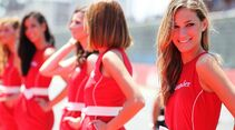 Girls - Formel 1 - GP Europa - 24. Juni 2012