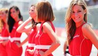 Girls - Formel 1 - GP Europa - 24. Juni 2012