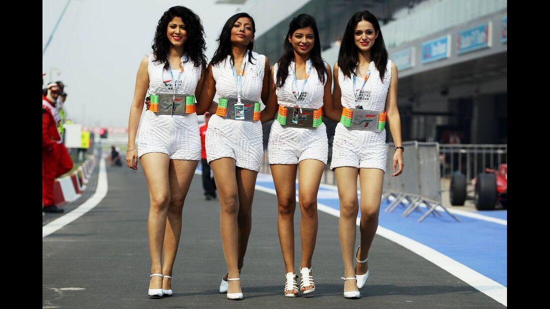 Girls - Formel 1 - GP Indien - 27. Oktober 2012