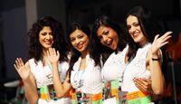Girls  - Formel 1 - GP Indien - 28. Oktober 2012