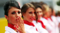 Girls - Formel 1 - GP Italien 2013