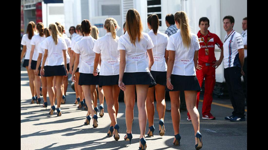 Girls - Formel 1 - GP Italien - 6. September 2014
