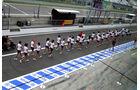 Girls - Formel 1 - GP Italien - 7. September 2013