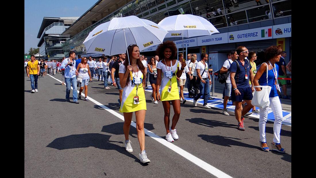 Girls - Formel 1 - GP Italien - Monza - 6. September 2013