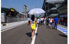 Girls - Formel 1 - GP Italien - Monza - 6. September 2013