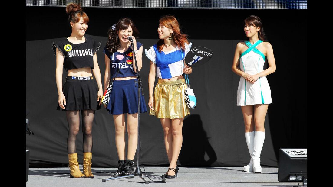 Girls - Formel 1 - GP Japan - 12. Oktober 2013