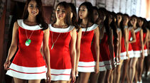Girls - Formel 1 - GP Korea - 5. Oktober 2013