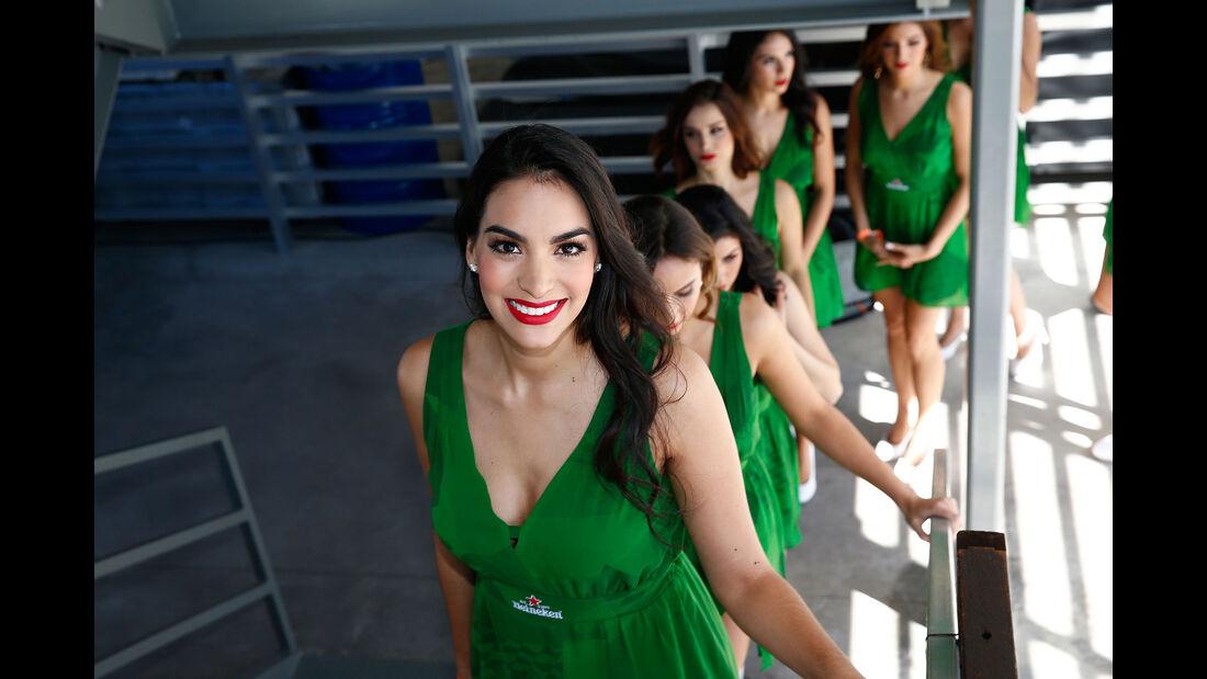 Girls - Formel 1 - GP Mexiko - 29. Oktober 2016