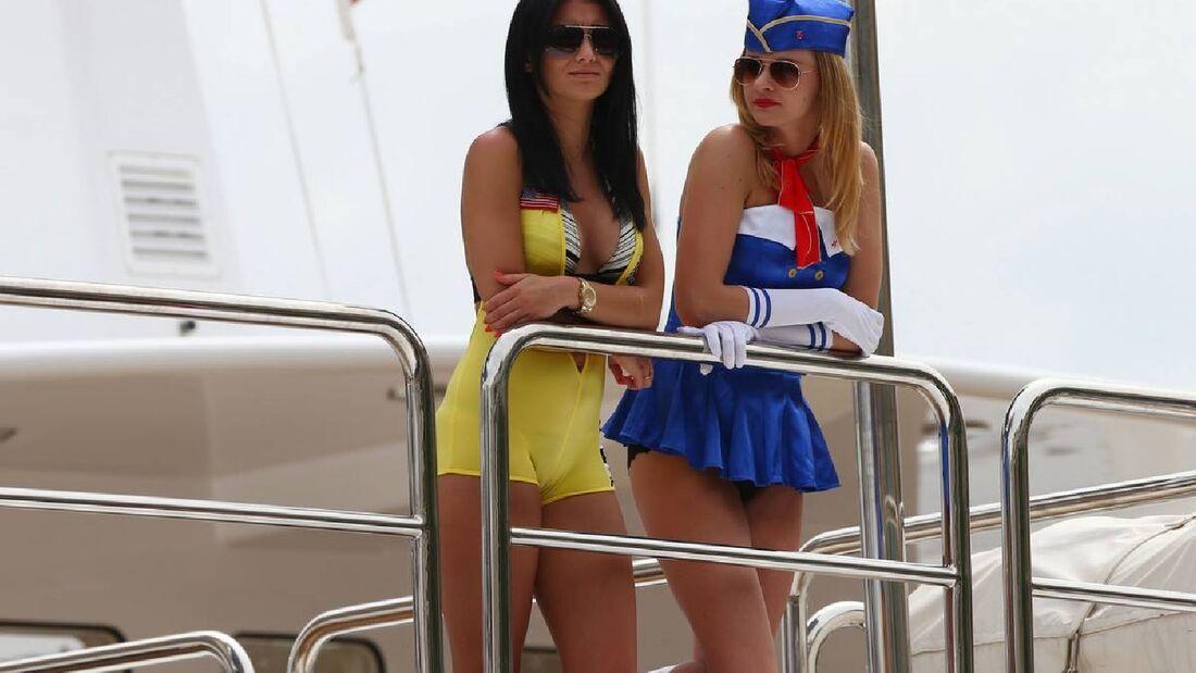 Girls - Formel 1 - GP Monaco - 25. Mai 2014