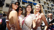 Girls - Formel 1 - GP Monaco - Sonntag - 24. Mai 2015