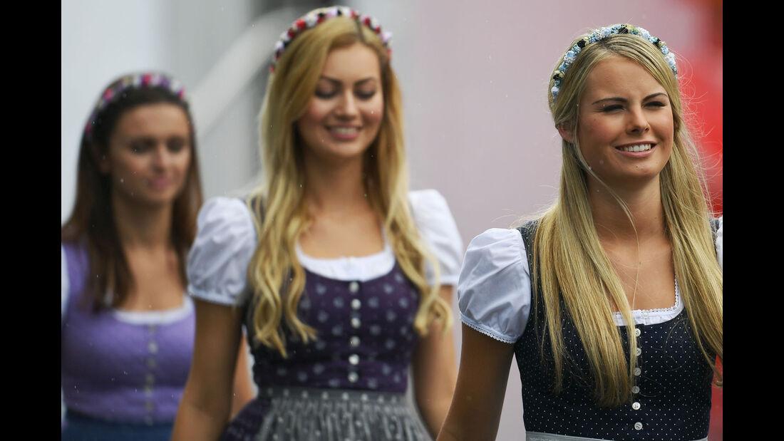 Girls - Formel 1 - GP Österreich - 2. Juli 2016