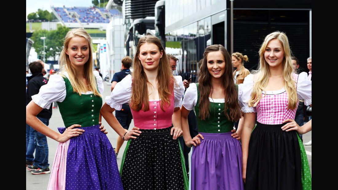 Girls - Formel 1 - GP Österreich - Spielberg - 20. Juni 2014