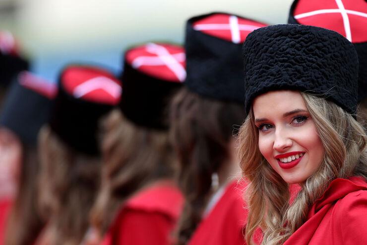 Girls - Formel 1 - GP Russland - 1. Mai 2016