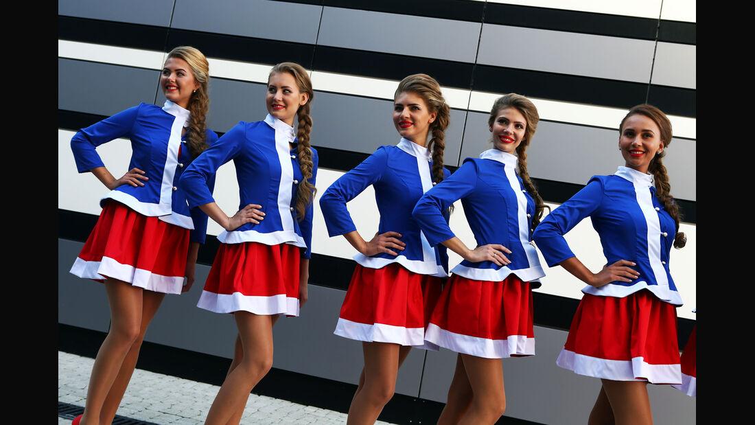 Girls - Formel 1 - GP Russland - 11. Oktober 2014
