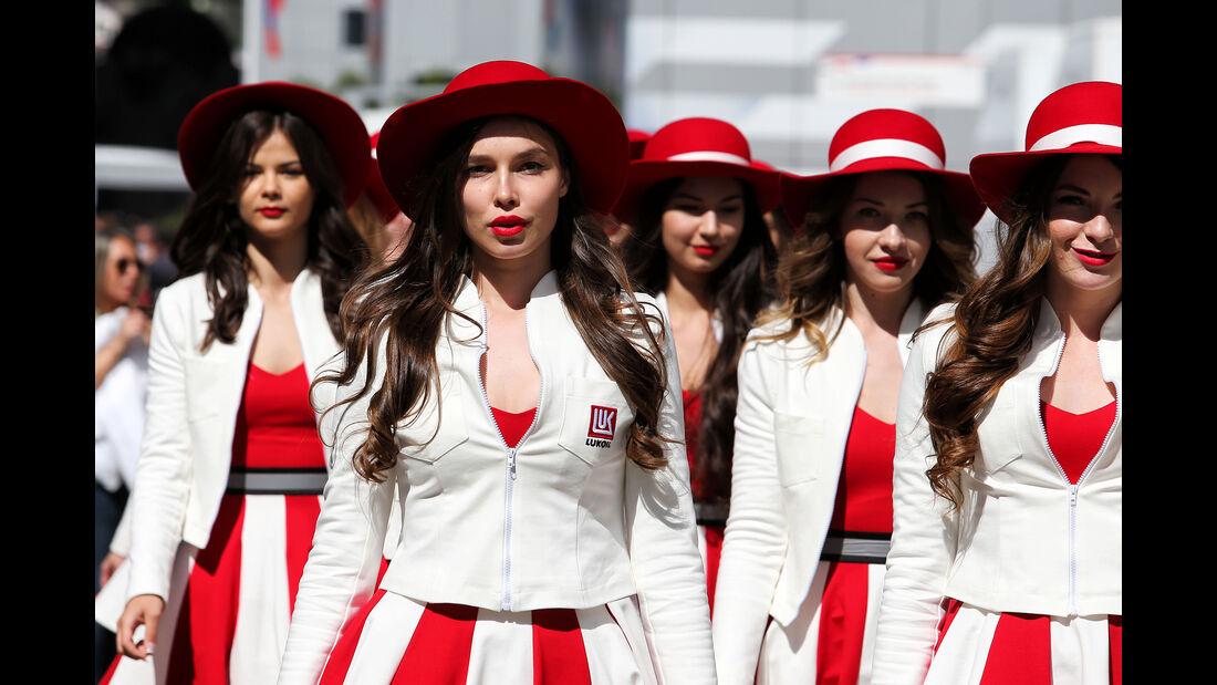 Girls - Formel 1 - GP Russland - Sotschi - 29. April 2017