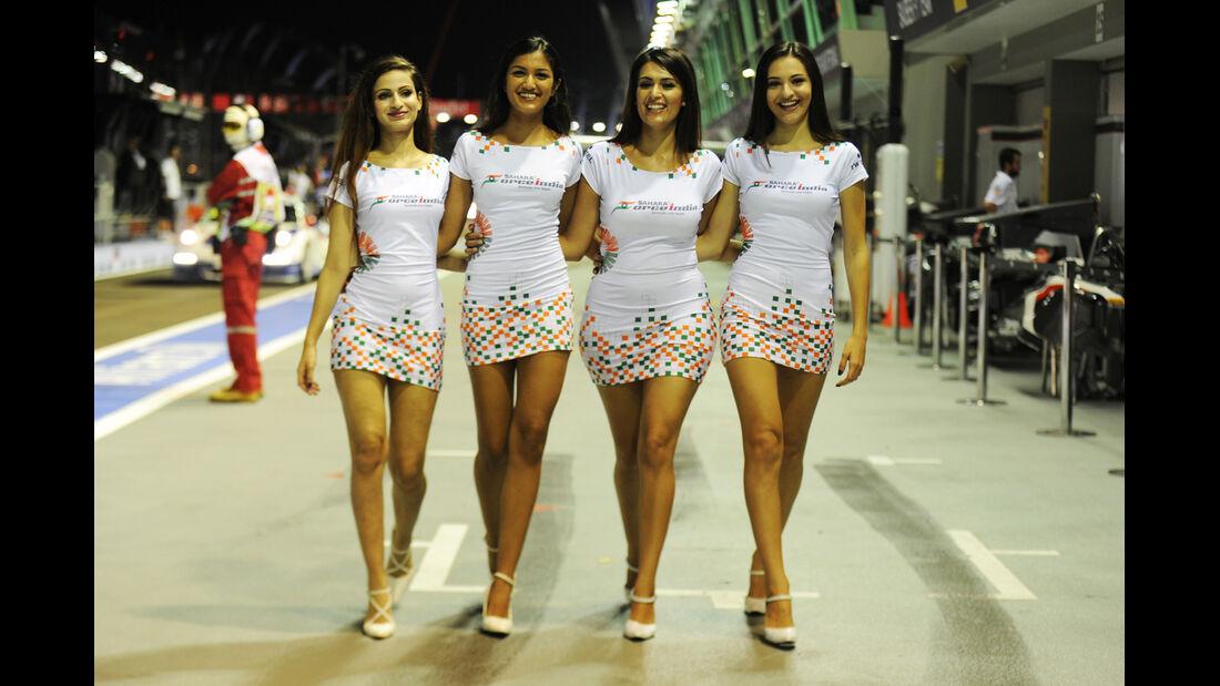 Girls - Formel 1 - GP Singapur - 21. September 2013