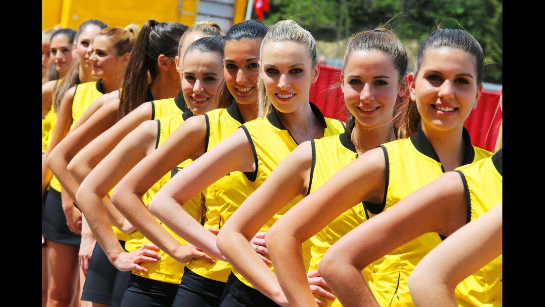 Girls - Formel 1 - GP Spanien - Barcelona - 10. Mai 2014
