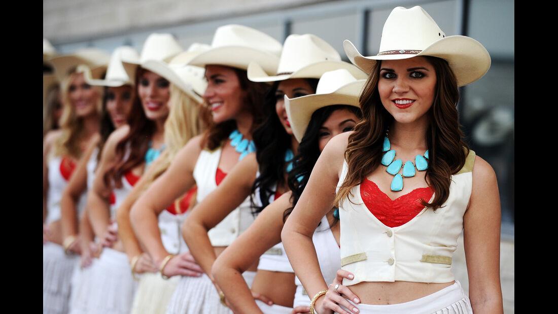 Girls - Formel 1 - GP USA - 16. November 2013