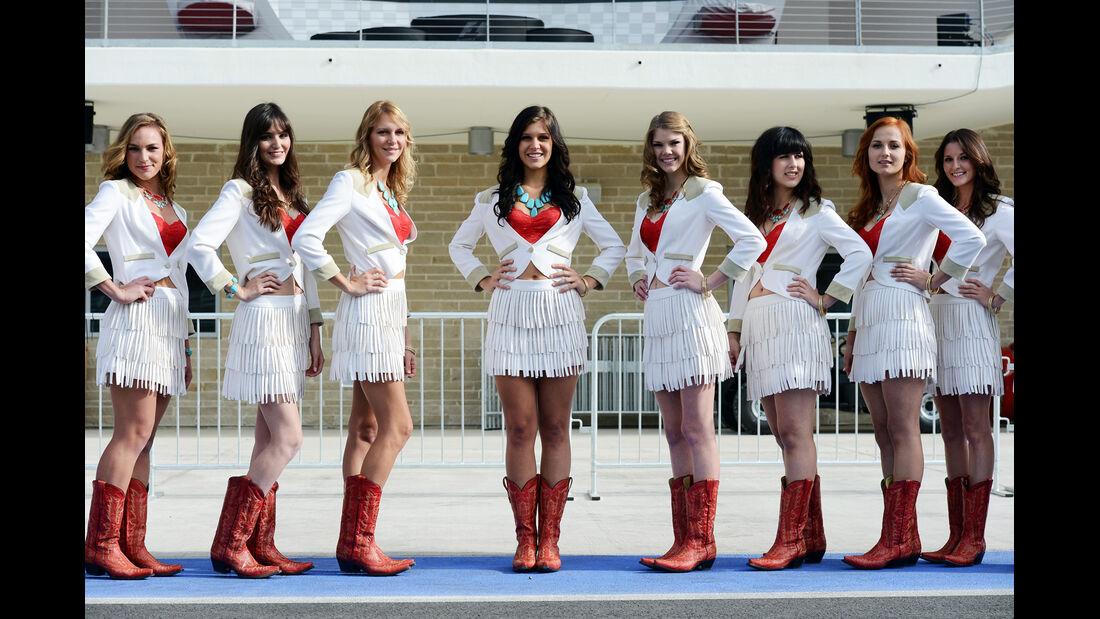 Girls - Formel 1 - GP USA - Austin - 15. November 2012