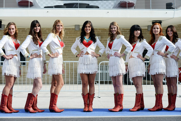 Girls - Formel 1 - GP USA - Austin - 15. November 2012