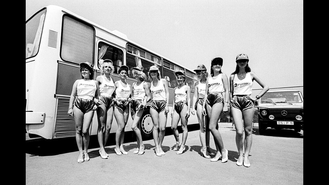 Girls - Formel 1 - GP Ungarn 1986
