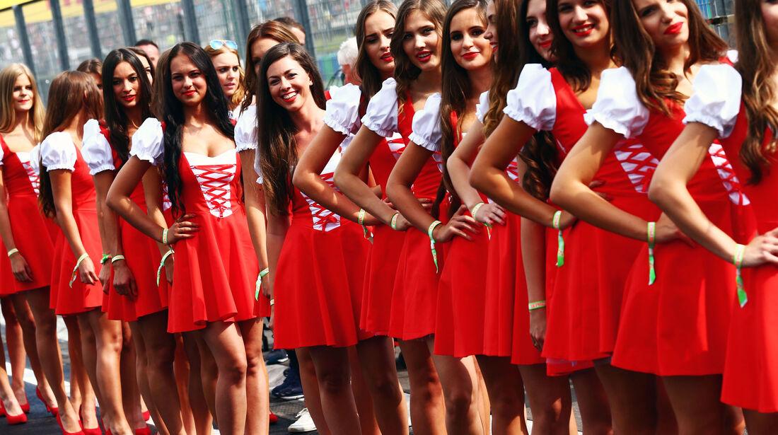 Girls - Formel 1 - GP Ungarn - 23. Juli 2016