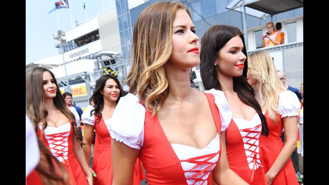 Girls - Formel 1 - GP Ungarn - 24. Juli 2016