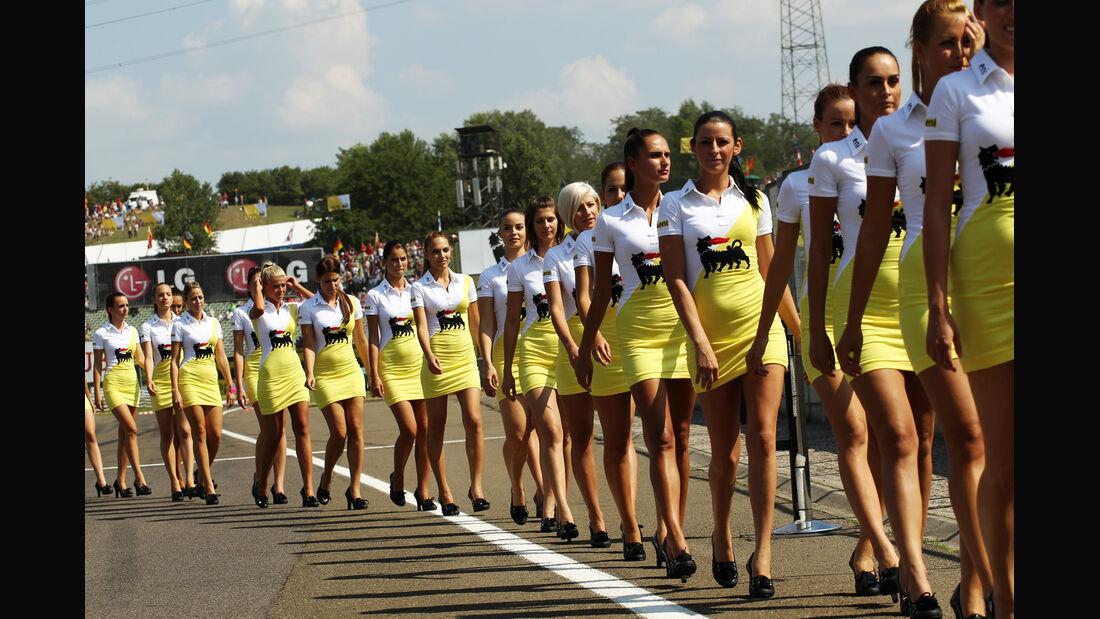 Girls - Formel 1 - GP Ungarn - Budapest - 28. Juli 2012