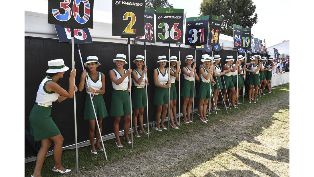 Girls - GP Australien 2017