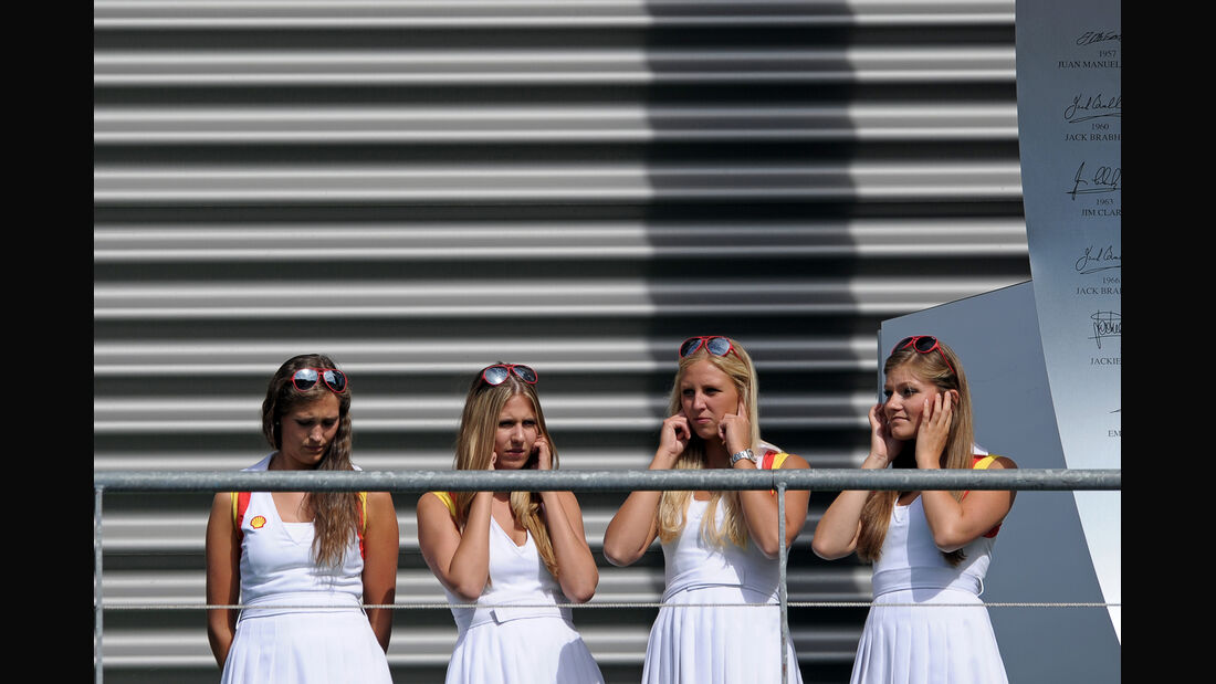 Girls - GP Belgien 2012