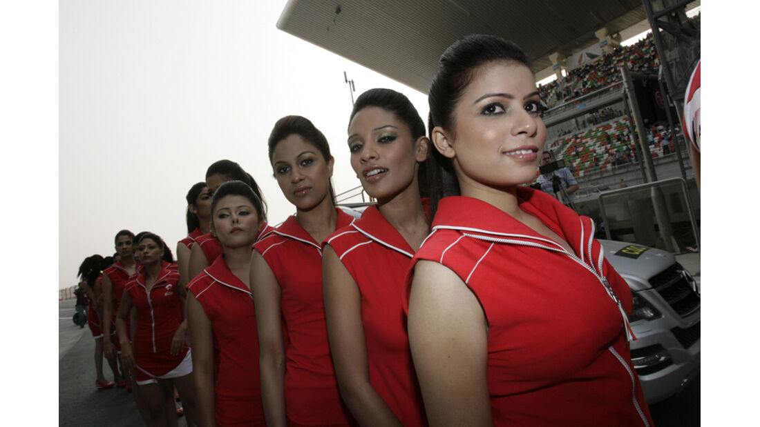 Girls - GP Indien - Delhi - 29.10.2011