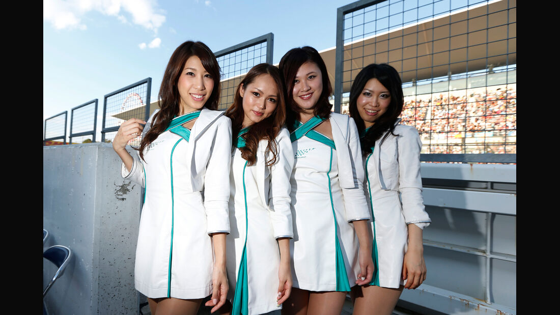 Girls - GP Japan 2013