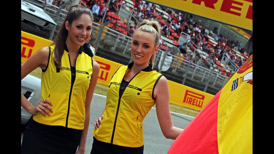 Girls - GP Spanien 2014