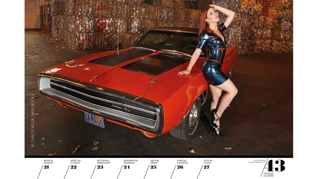 Girls & Legendary US-Cars 2021