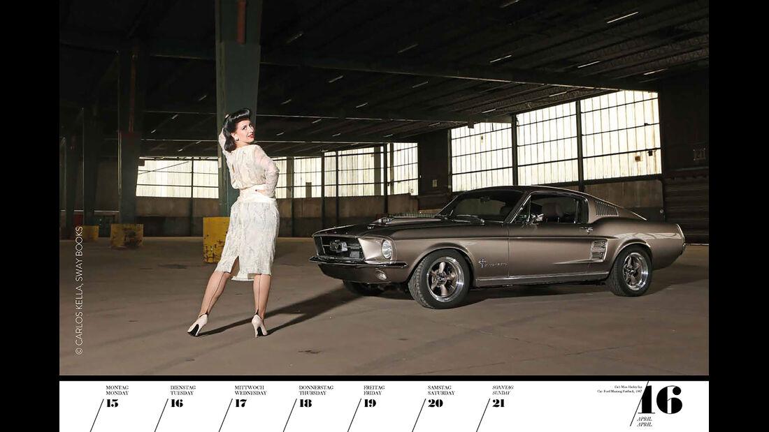 Girls & Legendary US-Cars 2034