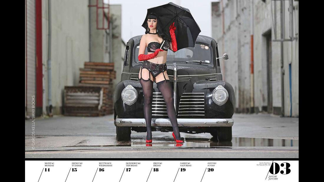 Girls & Legendary US-Cars 2040
