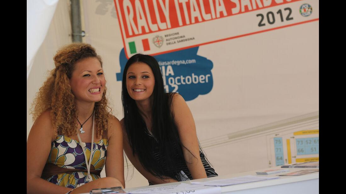 Girls Rallye Italien 2012 WRC