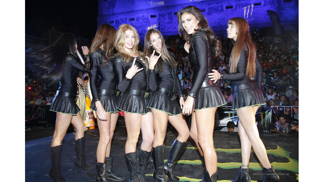 Girls Rallye Mexiko 2013