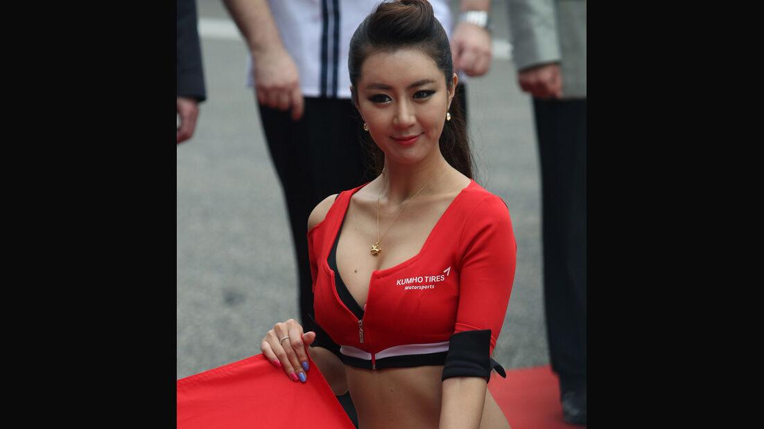 Girls - WTCC - Shanghai - 2013