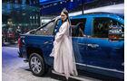 Girls auf der Shanghai Auto Show 2017