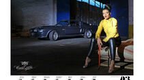 Girls & legendary US-Cars 2013 Wochenkalender