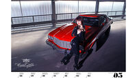 Girls & legendary US-Cars 2013 Wochenkalender