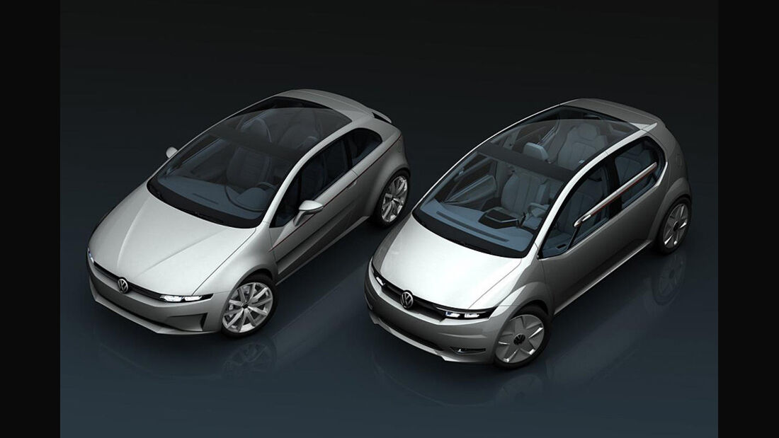 Giugiaro VW Go und VW Tex